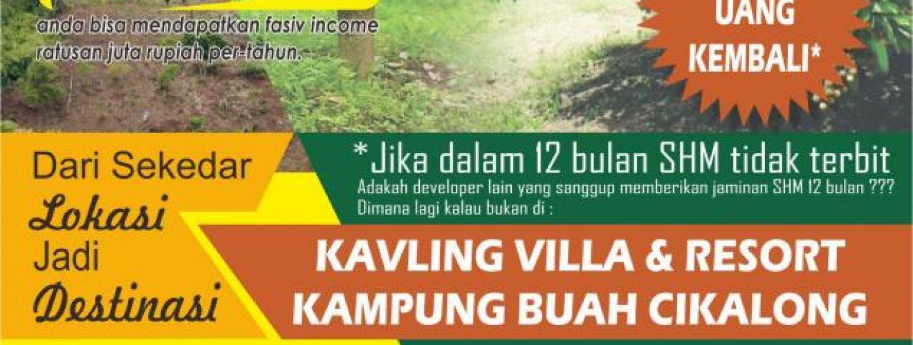 Kampung Buah Cikalong Cluster Durian